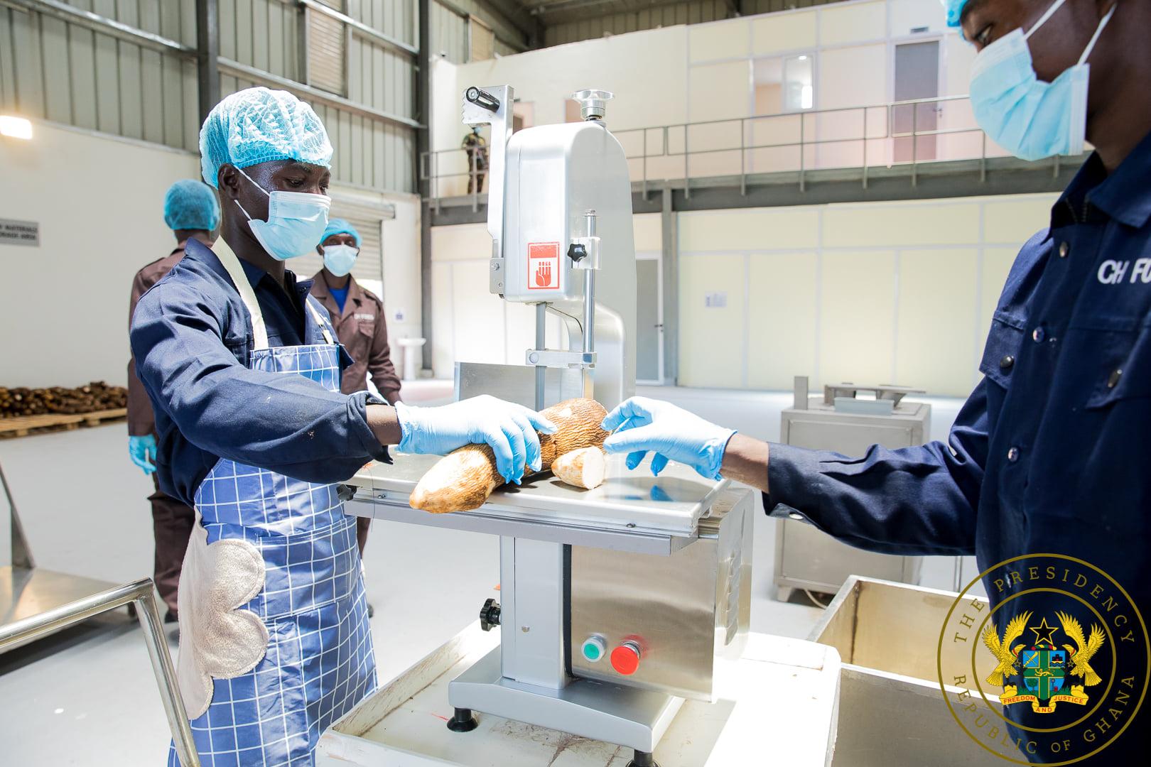 Akufo-Addo commissions GH¢10 million yam and cassava